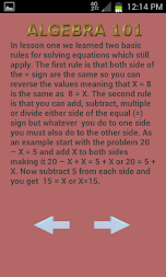 Algebra 102 APK screenshot thumbnail 16