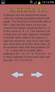 Algebra 102- screenshot thumbnail