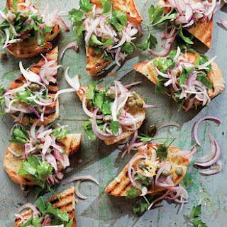 Parsley and Onion Salad
