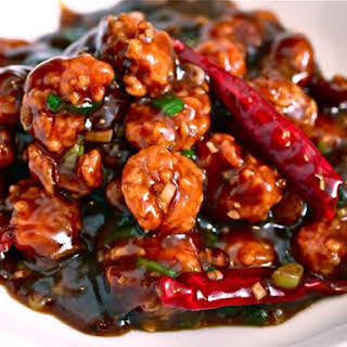 Popeye Tso's Chicken (General Tso's Chicken Made with Popeye's Chicken Nuggets).