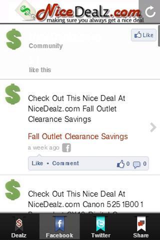 【免費購物App】NiceDealz.com-APP點子