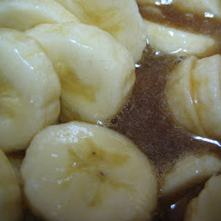 Caramel Banana Topping