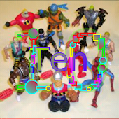 Count Action Toys 1-10