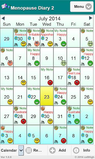 Menopause Diary 2