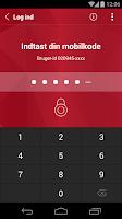 Screenshot of Østjydsk Banks MobilBank