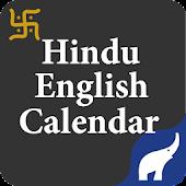 Hindu English Calendar