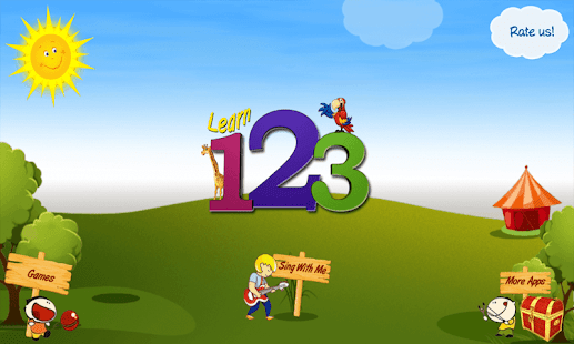 Kids Learn Numbers Train Lite