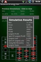 Screenshot of Win Roulette - Strategy Sim