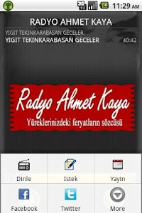 Radyo Ahmet Kaya screenshot 1