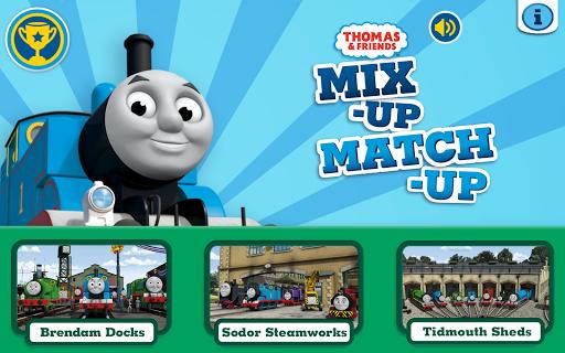 Thomas Friends: Mix-Up Match
