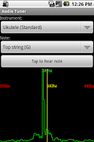 Screenshot of Audio Tuner