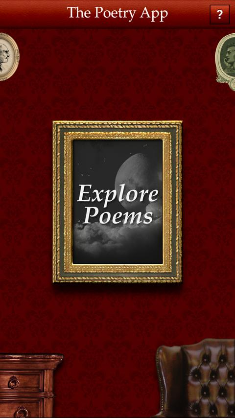 The Poetry App - screenshot
