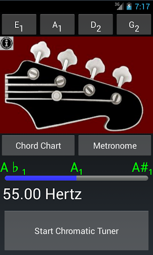 Bass Guitar Tuner N Chords