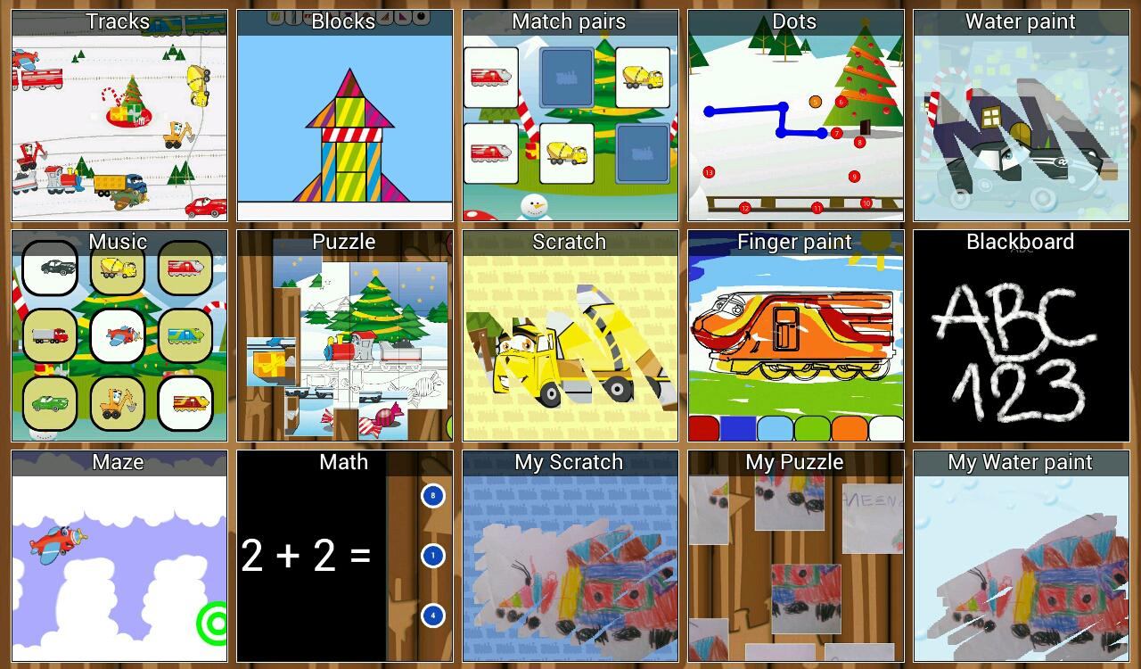Kids Toddlers Preschool Games - screenshot