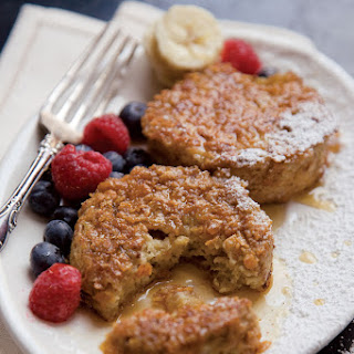 Cornflake-Crusted Brioche French Toast.