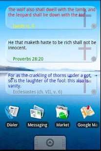 Bible Quote Widget - screenshot thumbnail