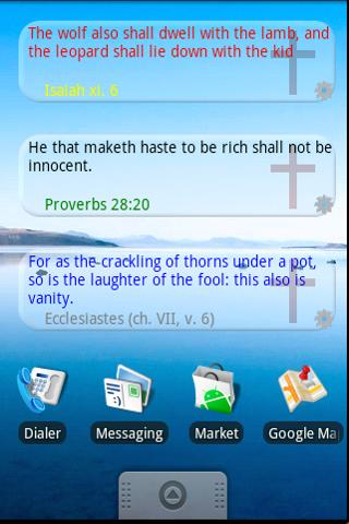 Bible Quote Widget - screenshot