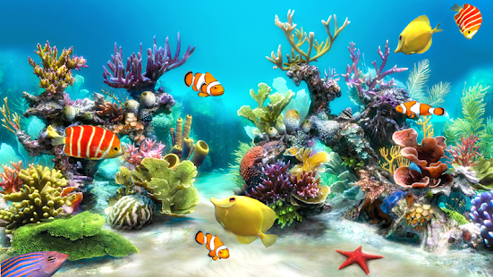 Sim Aquarium Live Wallpaper - screenshot thumbnail