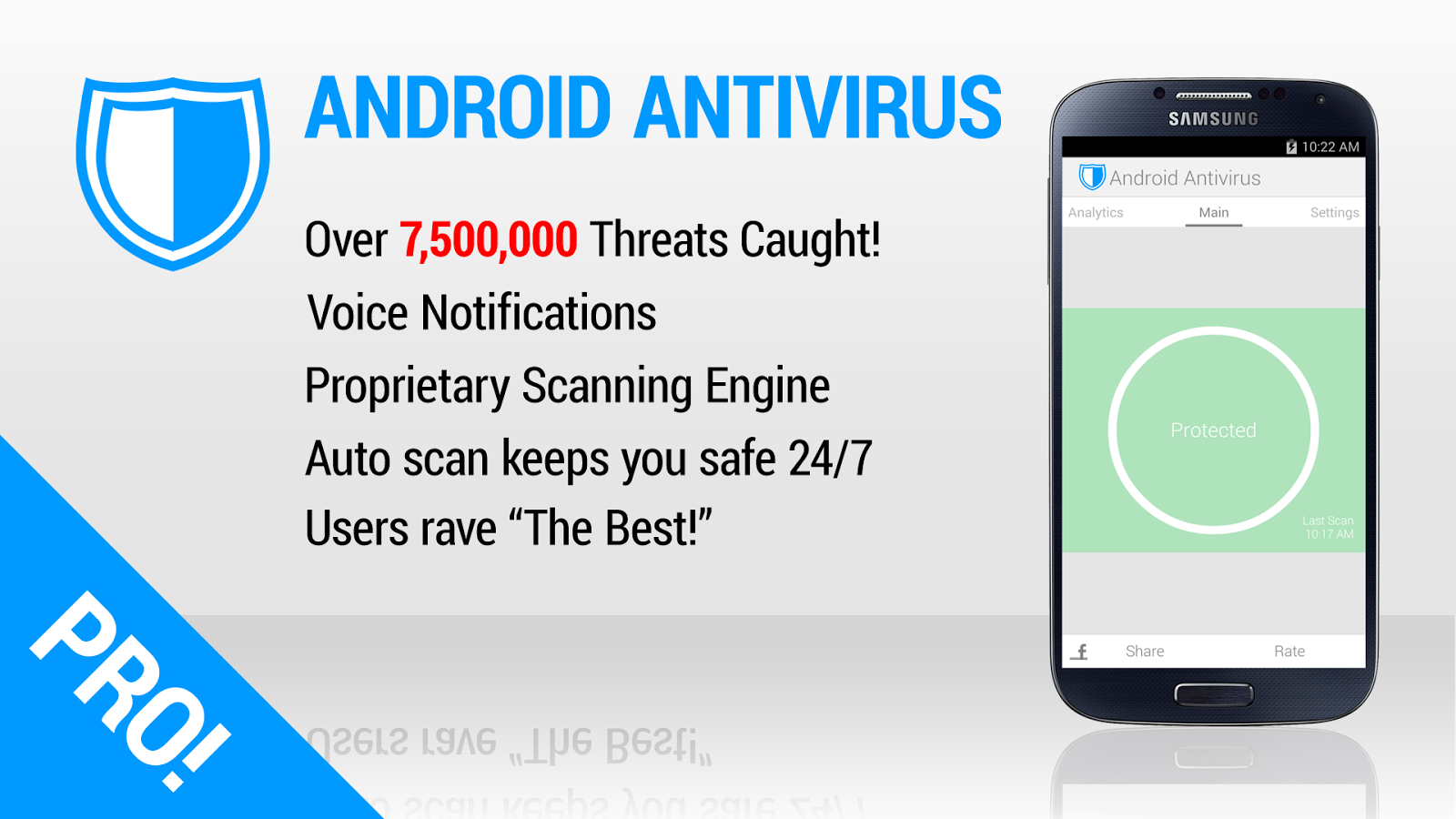 Antivirus for Android Pro- screenshot