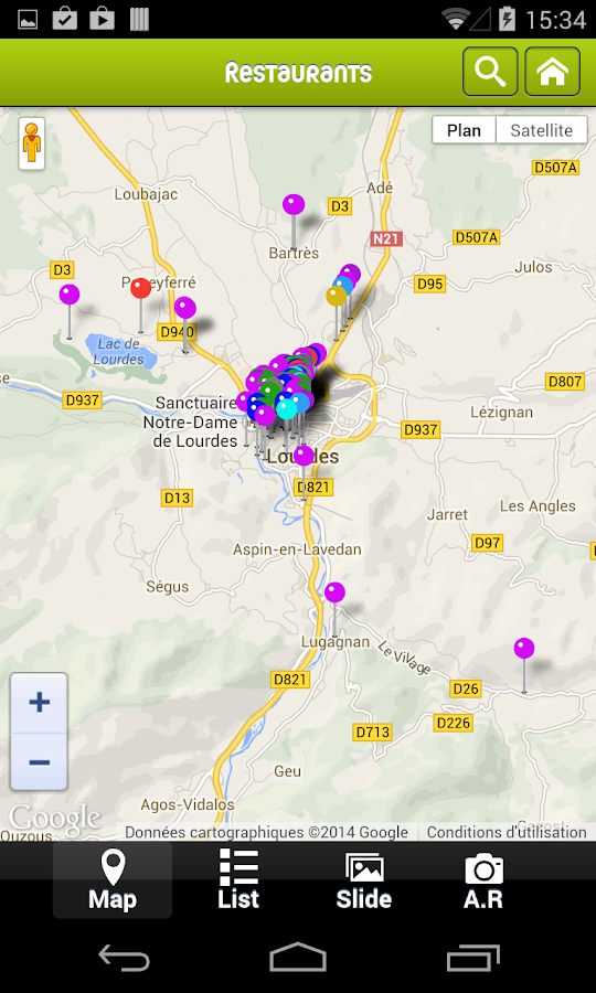Visit Lourdes- screenshot