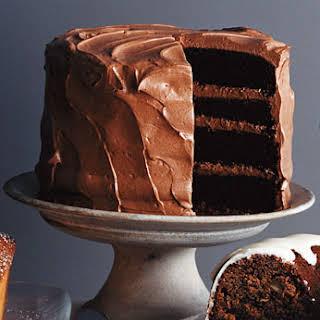 Mile-High Chocolate Cake.