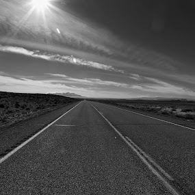 Long Lonely Road by VAM Photography - Landscapes Travel ( utah, places, travel, road, landscape,  )