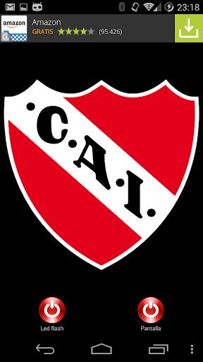Lantern flash CA Independiente