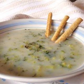 Low-Fat Broccoli Soup.