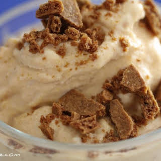 Pumpkin Gingersnap Ice Cream.
