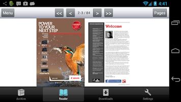Screenshot of EOS magazine