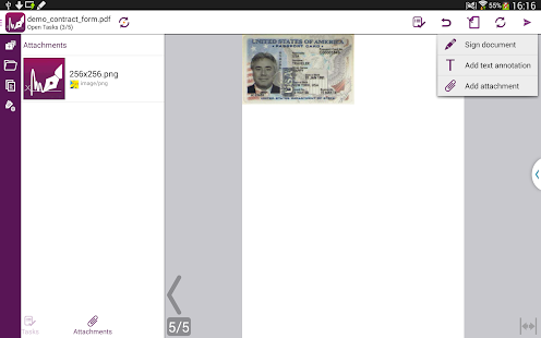 SIGNificant E-Signing Client - screenshot thumbnail