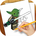 Learn to Draw Lego Star Wars
