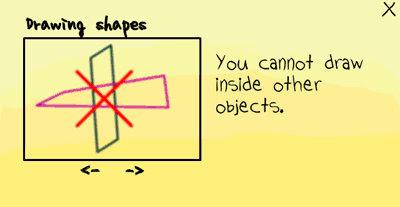 [小遊戲]魔法筆(MagicPen)不能在畫出來的物件上又畫上別的物件