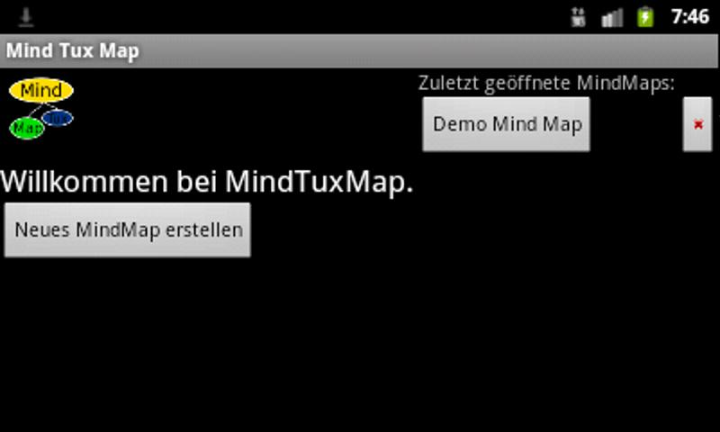 Mind Tux Map - screenshot