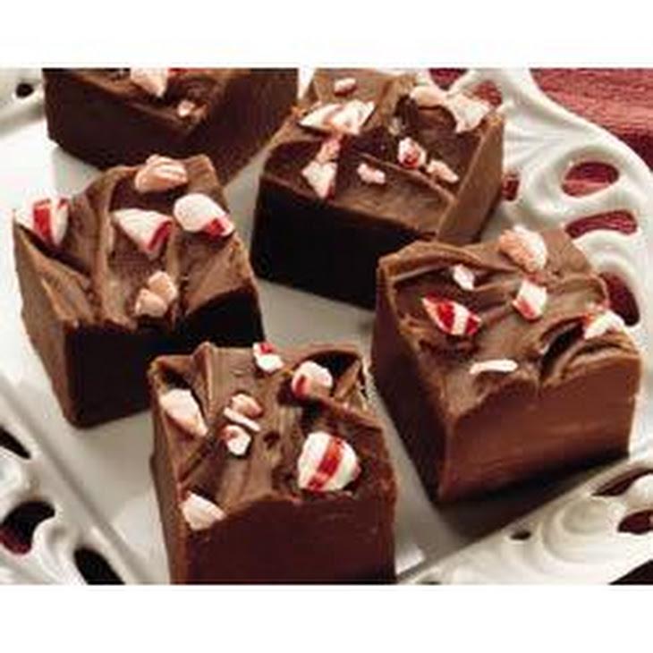 Peppermint Chocolate Fudge Recipe