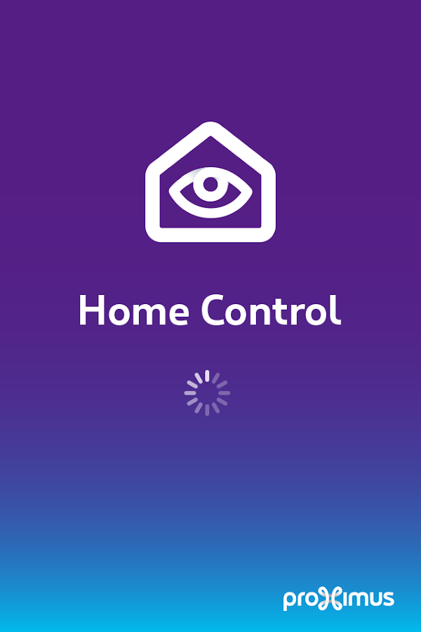 Proximus Home Control- screenshot
