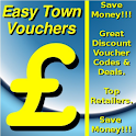 Easy Town Shopping Vouchers logo