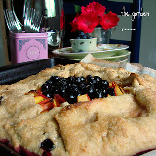 Blueberry Peach Galette