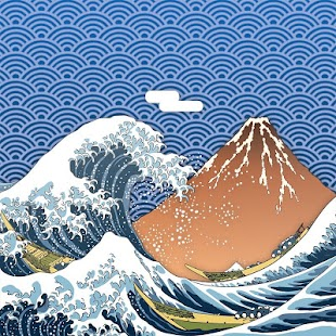 Ukiyo-e Live Wallpaper