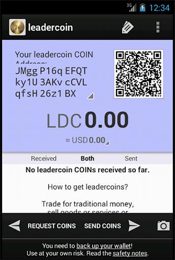 leadercoin wallet