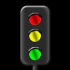 Trafficlight simulation DONATE icon