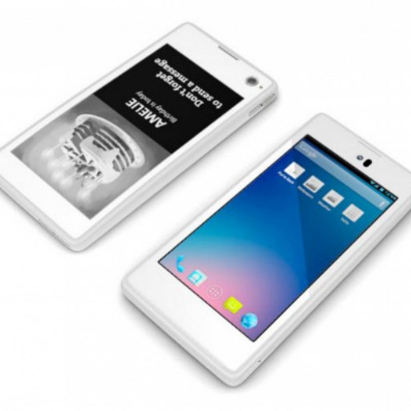 Yotaphone y sus dos revolucionarias pantallas