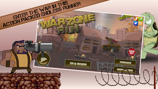 War Zone Run: Trench Heroes