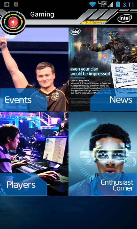Intel VIP Tech Zone - screenshot