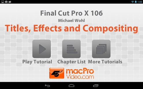 Final Cut Pro X Titles FX