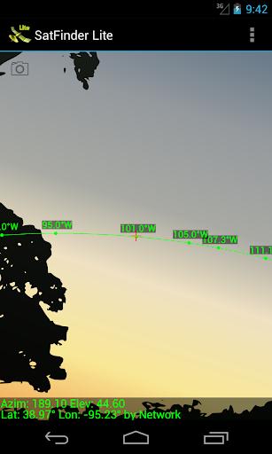 SatFinder Lite - TV Satellites 2.2.2 screenshots 1