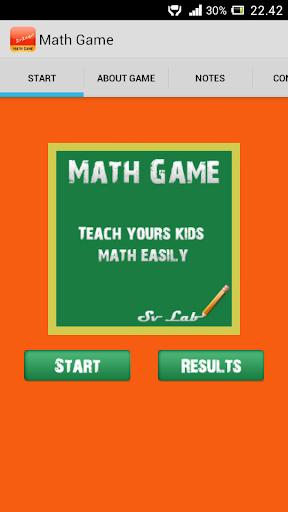 Kids Math Game