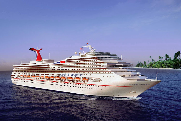 Carnival Conquest offers seven-night itineraries to the Caribbean and Central America, including the US Virgin Islands, San Juan, Grand Turk, the Bahamas, Jamaica, Cozumel, Belize City, Grand Cayman, Aruba, Curacao and Honduras. But not all in one sailing.