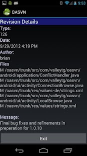 Open Android SVN PRO (OASVN) - screenshot thumbnail