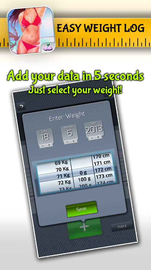 Easy Weight: Tracker & Manager - screenshot